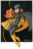 batgirl commission by katiecandraw