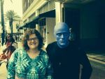 me with one of the blue man group by moltresflare