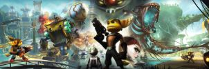 Ratchet Clank Future wallpaper by Toxigyn