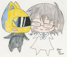 Celty loves Shinra by InuKid