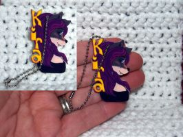 Kira Badge now a Keychain by LilWolfStudios