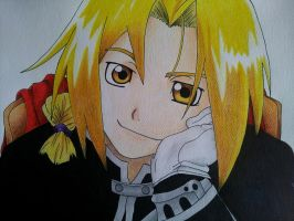 Edward Elric by RitanaPais