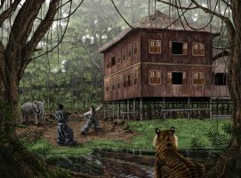 Jungle Trainning Center by caiocacau
