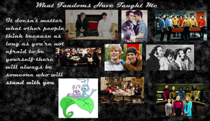 What Fandoms Have Taught Me by giggleninny