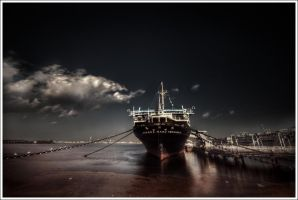 Hikawa Maru Yokohama by Graphylight