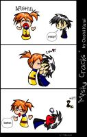 PM: Misty Cracks Comic by DiehardGohanFan