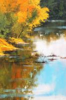 River Bank by artsaus
