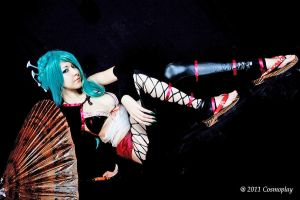 Hatsune Miku - Knife 01 by dani-foca