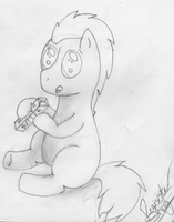 Baby Doctor Whooves! =] by pegisisterswag