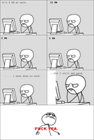 PAID FOR NOTHING **RAGE comic** by MamaGizzy