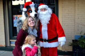 Tycho Aussie and Santa by Crixans