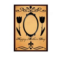 Mothers Day Vintage Frame by Darthgog