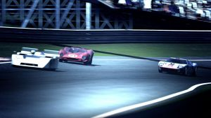 Classic Race Cars by MercilessOne