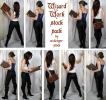 Wizard Work Stock Pack by archetype-stock