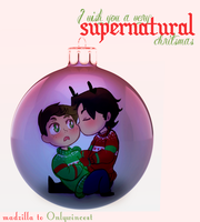 a very wincest xmas by Naomi-shan