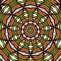 retro color kaleidoscope by Patchoulli