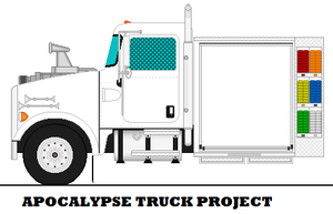 Apocalypse Truck Project by mcspyder1