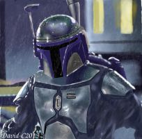 Jango Fett by David-c2011
