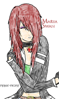 Maria Swan -AC Abstergo Original Character- by Pinkie-Pie297