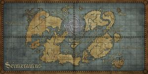 World Map of Seimeramus by PencilBones