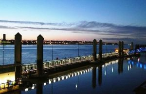 Dusk over the Mersey 2. by paulcaddy