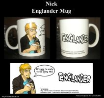 Nick Mug by AeroSocks