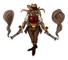 Sheriff Toothpick by Sariels-Hope