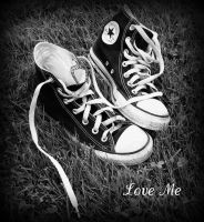 Converse: Love Me by Parisgirl94