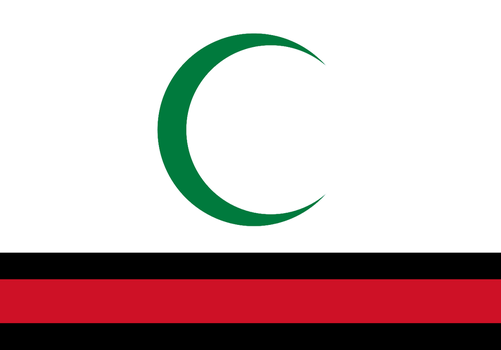 2004 Flag of Iraq With Pan-Arabic Colors by TheWeirdSerb