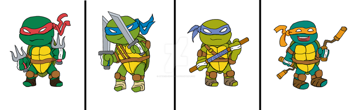 TMNT by Attack-On-Panda