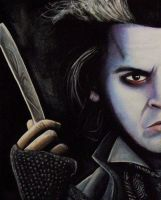 sweeny Todd for real by chrisxart