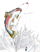 Rainbow Trout by ShiroRyu927