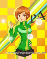 Satonaka Chie by whitechariot