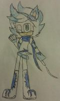 Frost the Hedgehog (Bio in Description) by Silverluver123