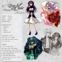 Heather - Character Card by Noire-Ighaan