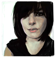 Portrait exercise by juhoham