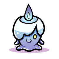Pokeddexy Challenge Day 07 - Litwick! by IncreasinglyCoherent