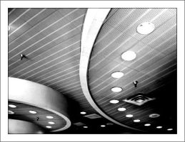 Ceiling - BW by neversaydecaf