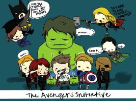 Avengers Initiative by thatasiangirl101