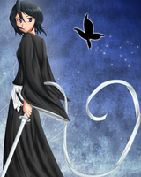 Rukia by sakura-the-kunoichi