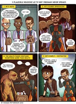 A new half life comic by reigneous