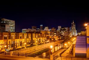 Downtown Lights by TheDeckBrew