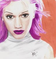 Saturn era Gwen Stefani by candyswirlz