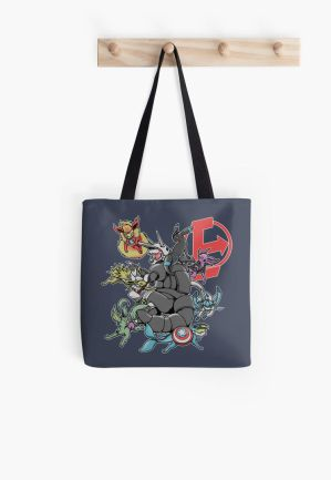 Eevengers: Age of Aggron - Tote bag by TheMushman