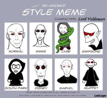 Lord Voldemort - Style Meme by LadyLogan