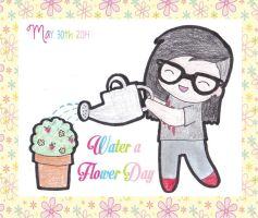 Water a Flower Day by RaspberryFanta