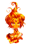 Flame Princess by Bubble-Crown