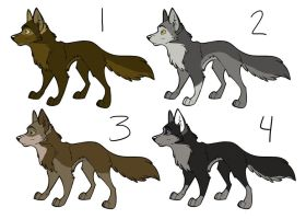 Wolf Adopts CLOSED by SapphireSquire