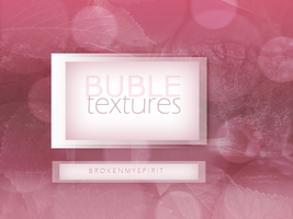 Bubble Textures by Bophary-Goncalo