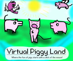 Virtual Piggy Land layout. by xXShadowPathXx